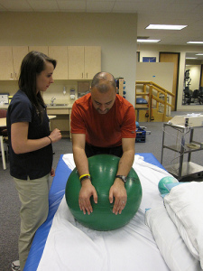 physical-therapist-equipment to perform tasks